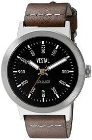 腕時計 ベスタル ヴェスタル メンズ SLR3L001 【送料無料】Vestal Unisex SLR3L001 The Retrofocus Analog Display Quartz Brown Watch腕時計 ベスタル ヴェスタル メンズ SLR3L001