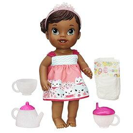 ベビーアライブ 赤ちゃん おままごと ベビー人形 B0320 【送料無料】Baby Alive Lil' Sips Baby Has a Tea Party Doll (African American)ベビーアライブ 赤ちゃん おままごと ベビー人形 B0320