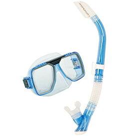 シュノーケリング マリンスポーツ UC-5019-CLB 【送料無料】TUSA Sport Adult Liberator Mask and Snorkel Combo, Clear Blueシュノーケリング マリンスポーツ UC-5019-CLB