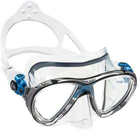 シュノーケリング マリンスポーツ DS336020 【送料無料】Cressi Big Eyes Evolution, clear/blueシュノーケリング マリンスポーツ DS336020
