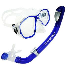シュノーケリング マリンスポーツ SCM278ST-BL-CB-3.0 【送料無料】Palantic Blue Jr. Snorkeling Prescription Dive Mask & Dry Snorkel Combo (-3.0)シュノーケリング マリンスポーツ SCM278ST-BL-CB-3.0