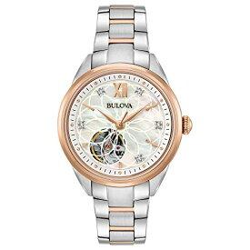 ブローバ 腕時計 レディース 98P170 Bulova Women's Automatic-self-Wind Watch with Stainless-Steel Strap, Two Tone, 15 (Model: 98P170)ブローバ 腕時計 レディース 98P170