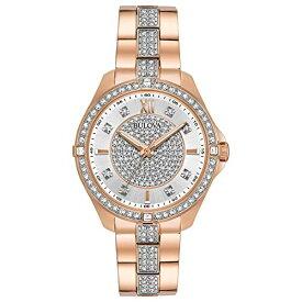 ブローバ 腕時計 レディース 98L229 Bulova Women's Quartz Watch with Stainless-Steel Strap, Rose Gold, 16 (Model: 98L229)ブローバ 腕時計 レディース 98L229