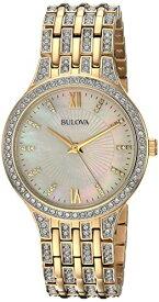 ブローバ 腕時計 レディース 98L234 Bulova Women's 98L234 Swarovski Crystal Gold Tone Bracelet Watchブローバ 腕時計 レディース 98L234