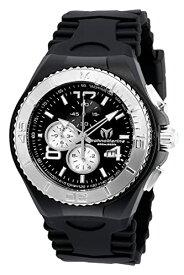 テクノマリーン 腕時計 メンズ TM-115148 Technomarine Men's Cruise Stainless Steel Quartz Watch with Silicone Strap, Black, 5.7 (Model: TM-115148)テクノマリーン 腕時計 メンズ TM-115148