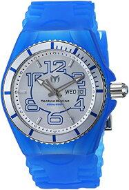 テクノマリーン 腕時計 メンズ TM-115140 Technomarine Men's Cruise Stainless Steel Quartz Watch with Silicone Strap, Blue, 29 (Model: TM-115140)テクノマリーン 腕時計 メンズ TM-115140