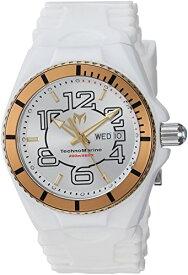 テクノマリーン 腕時計 メンズ TM-115142 Technomarine Men's Cruise Stainless Steel Quartz Watch with Silicone Strap, White, 5.7 (Model: TM-115142)テクノマリーン 腕時計 メンズ TM-115142