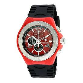 テクノマリーン 腕時計 メンズ TECHNO-TM-115113 Technomarine Tm-115113 Men's Cruise Jellyfish Chronograph Black Silicone Red Dial Watchテクノマリーン 腕時計 メンズ TECHNO-TM-115113