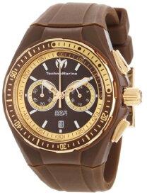 テクノマリーン 腕時計 メンズ 110063 TechnoMarine Unisex 110063 Cruise Sport Chronograph Brown Dial Watchテクノマリーン 腕時計 メンズ 110063