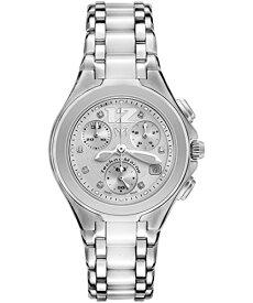 テクノマリーン 腕時計 レディース TECHNO-TLNCWC55C Technomarine Tlncwc55c Women's Neo Classic Chronograph Diamond (.05 Ctw), Stainless Steel And White Ceramic Watchテクノマリーン 腕時計 レディース TECHNO-TLNCWC55C