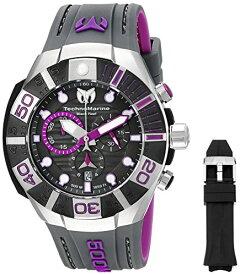 テクノマリーン 腕時計 メンズ TM-515017 Technomarine Men's TM-515017 Black Reef Analog Display Swiss Quartz Black Watchテクノマリーン 腕時計 メンズ TM-515017