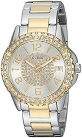 ゲス GUESS 腕時計 レディース U0779L4 GUESS Stainless Steel Crystal Bracelet Watch with Date Function. Color: Silver/Gold-Tone (Model: U0779L4)ゲス GUESS 腕時計 レディース U0779L4