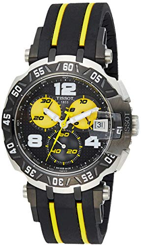 ティソ 腕時計 メンズ T0924172705700 Tissot T-Race Thomas Luthi Black Yellow Dial SS Quartz Lady Watch T0924172705700ティソ 腕時計 メンズ T0924172705700