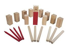 ボードゲーム 英語 アメリカ 海外ゲーム 35-7072 Triumph Kubb Viking Chess Outdoor Wooden Game Set Combines Bowling and Horseshoes for Players of All Agesボードゲーム 英語 アメリカ 海外ゲーム 35-7072