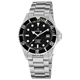 グロバナ スイスウォッチ 腕時計 メンズ 1571.2137 【送料無料】Grovana Men's 1571.2137 Diver Diver Black Dial Stainless Steel Watchグロバナ スイスウォッチ 腕時計 メンズ 1571.2137