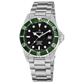 グロバナ スイスウォッチ 腕時計 メンズ 1571.2134 【送料無料】Grovana Men's 1571.2134 Diver Diver Black Dial Green Bezel Automatic Watchグロバナ スイスウォッチ 腕時計 メンズ 1571.2134