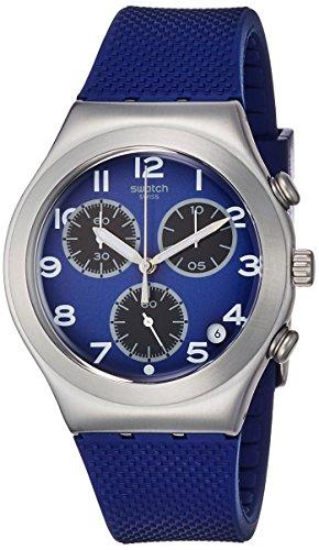スウォッチ 腕時計 メンズ YCS594 Swatch Sweet Sailor Blue Dial Blue Silicone Strap Men'S Watch Ycs594スウォッチ 腕時計 メンズ YCS594