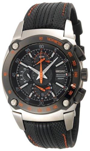 セイコー 腕時計 メンズ SPC045 Seiko Men's SPC045 Sportura Dual Fly-back Chronograph Watchセイコー 腕時計 メンズ SPC045