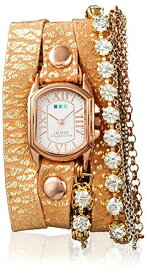 ラメールコレクションズ 腕時計 レディース LMMULTI7601 La Mer Collections Women's LMMULTI7620 Chateau Venice Gold-Tone Leather Watchラメールコレクションズ 腕時計 レディース LMMULTI7601