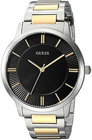 ゲス GUESS 腕時計 メンズ U0990G3 GUESS Men's Stainless Steel Casual Bracelet Watch, Color: Silver/Gold/Black (Model: U0990G3)ゲス GUESS 腕時計 メンズ U0990G3