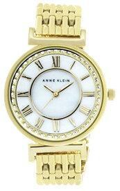 アンクライン 腕時計 レディース 【送料無料】Anne Klein Women's Mother of Pearl Dial Gold Tone Metal Bracelet Watch AK/2590MPGBアンクライン 腕時計 レディース
