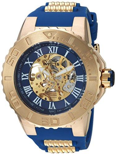インヴィクタ インビクタ プロダイバー 腕時計 メンズ 24741 Invicta Men's 'Pro Diver' Automatic Gold-Tone and Stainless Steel Casual Watch, Color:Blue (Model: 24741)インヴィクタ インビクタ プロダイバー 腕時計 メンズ 24741