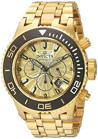 インヴィクタ インビクタ サブアクア 腕時計 メンズ 23937 Invicta Men's Subaqua Titanium Quartz Watch with Stainless-Steel Strap, Gold, 1 (Model: 23937)インヴィクタ インビクタ サブアクア 腕時計 メンズ 23937