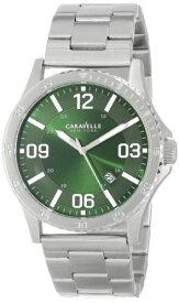 ブローバ 腕時計 メンズ 43B129 Caravelle NY Men's 43B129 Stainless Steel Bracelet Watchブローバ 腕時計 メンズ 43B129