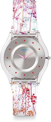スウォッチ 腕時計 レディース SFE102 Swatch Jardin Fleuri Silicone Ladies Watch SFE102スウォッチ 腕時計 レディース SFE102