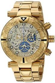 インヴィクタ インビクタ サブアクア 腕時計 メンズ 24989 Invicta Men's Subaqua Quartz Watch with Stainless-Steel Strap, Gold, 24 (Model: 24989)インヴィクタ インビクタ サブアクア 腕時計 メンズ 24989