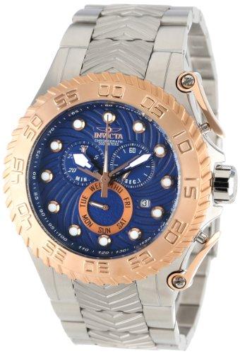 インヴィクタ インビクタ プロダイバー 腕時計 メンズ 12939 Invicta Men's 12939 Pro Diver Chronograph Blue Textured Dial Stainless Steel Watchインヴィクタ インビクタ プロダイバー 腕時計 メンズ 12939