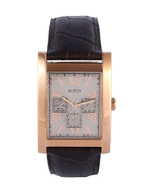 ゲス GUESS 腕時計 メンズ W0370G3 Guess W0370G3 Men's Dress Multifunction Brown Leather Strap Watchゲス GUESS 腕時計 メンズ W0370G3
