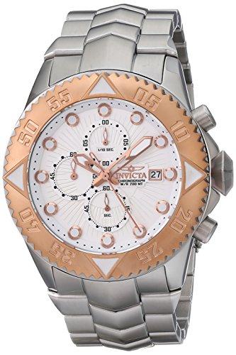 インヴィクタ インビクタ プロダイバー 腕時計 メンズ 13101 Invicta Men's 13101 Pro Diver Chronograph Silver Textured Dial Stainless Steel Watchインヴィクタ インビクタ プロダイバー 腕時計 メンズ 13101