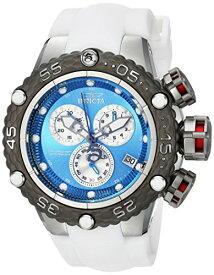 インヴィクタ インビクタ サブアクア 腕時計 メンズ 24444 Invicta Men's Subaqua Stainless Steel Quartz Watch with Silicone Strap, White, 26 (Model: 24444)インヴィクタ インビクタ サブアクア 腕時計 メンズ 24444