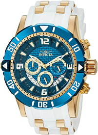 インヴィクタ インビクタ プロダイバー 腕時計 メンズ 23707 Invicta Men's Pro Diver Stainless Steel Quartz Diving Watch with Polyurethane Strap, Two Tone, 24 (Model: 23707)インヴィクタ インビクタ プロダイバー 腕時計 メンズ 23707