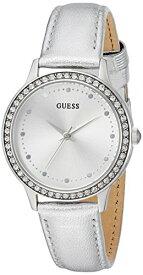 ゲス GUESS 腕時計 レディース U0648L17 GUESS Women's Stainless Steel Leather Casual Watch, Color: Silver-Tone (Model: U0648L17)ゲス GUESS 腕時計 レディース U0648L17