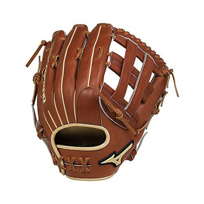 グローブ外野手用ミットミズノ野球ベースボール312496MizunoGPS1-700DHProSelectOutfieldBaseballGlove,Size12.75,Brown,RightHandThrowグローブ外野手用ミットミズノ野球ベースボール312496