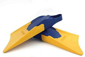 サーフィン フィン マリンスポーツ 【送料無料】Churchill Makapuu Fins (Blue/Yellow) - Size: Medium/Large (M/L) - Perfect for catching waves, whether bodyboarding, swimming, travel fins, bodysurfing, casual swimmerサーフィン フィン マリンスポーツ