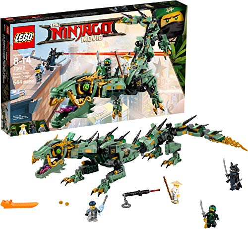 レゴ ニンジャゴー 6136340 LEGO Ninjago Movie Green Ninja Mech Dragon 70612 Building Kit (544 Piece)レゴ ニンジャゴー 6136340