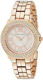 アンクライン 腕時計 レディース AK/1462RMRG 【送料無料】Anne Klein Women's AK/1462RMRG Swarovski Crystal Accented Rose Gold-Tone Bracelet Watchアンクライン 腕時計 レディース AK/1462RMRG