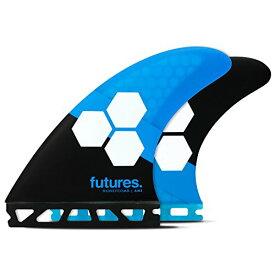サーフィン フィン マリンスポーツ 【送料無料】Futures Fins - AM1 HC Thruster - Blue/Blackサーフィン フィン マリンスポーツ