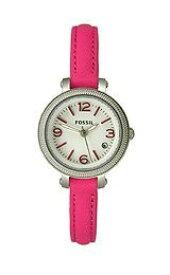 フォッシル 腕時計 メンズ ES3302 Fossil Heather Three Hand Leather Watch - Pink Es3302フォッシル 腕時計 メンズ ES3302