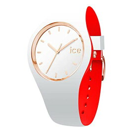 腕時計 アイスウォッチ レディース かわいい 007230 【送料無料】Ice-Watch - ICE Loulou White Rose-Gold - Women's Wristwatch with Silicon Strap - 007230 (Small)腕時計 アイスウォッチ レディース かわいい 007230