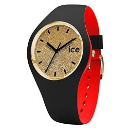 腕時計 アイスウォッチ メンズ かわいい 007238 【送料無料】Ice-Watch - ICE Loulou Gold Glitter - Women's Wristwatch with Silicon Strap - 007238 (Medium)腕時計 アイスウォッチ メンズ かわいい 007238