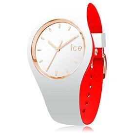 腕時計 アイスウォッチ メンズ かわいい 007240 【送料無料】Ice-Watch - ICE Loulou White Rose-Gold - Women's Wristwatch with Silicon Strap - 007240 (Medium)腕時計 アイスウォッチ メンズ かわいい 007240