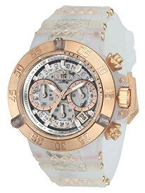 インヴィクタ インビクタ サブアクア 腕時計 メンズ 24374 【送料無料】Invicta Women's Subaqua Noma III Stainless Steel Quartz Watch with Silicone Strap, White, 24.5 (Model: 24374)インヴィクタ インビクタ サブアクア 腕時計 メンズ 24374