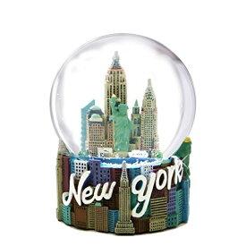 スノーグローブ 雪 置物 インテリア 海外モデル WG112 【送料無料】Skyline New York City Snow Globe Souvenir Figurine 80mm from NYC Snow Globes Collectionスノーグローブ 雪 置物 インテリア 海外モデル WG112