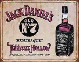 """壁飾り インテリア タペストリー 壁掛けオブジェ 海外デザイン 635456 Desperate Enterprises Jack Daniel's Whiskey - Tennessee Hollow Tin Sign, 16"""" W x 12.5"""" H壁飾り インテリア タペストリー 壁掛けオブジェ 海外デザイン 635456"""