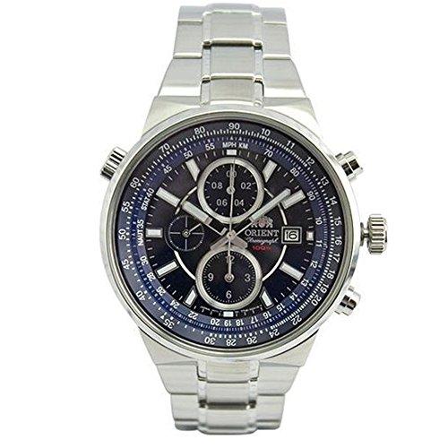 オリエント 腕時計 メンズ FTT15002D0 Orient Men's 45mm Steel Bracelet & Case Quartz Blue Dial Analog Watch FTT15002D0オリエント 腕時計 メンズ FTT15002D0