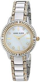 アンクライン 腕時計 レディース AK/2977MPTT 【送料無料】Anne Klein Women's AK/2977MPTT Swarovski Crystal Accented Two-Tone Bracelet Watchアンクライン 腕時計 レディース AK/2977MPTT